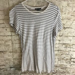 Vince Anthropologie Women's Large Striped Shirt